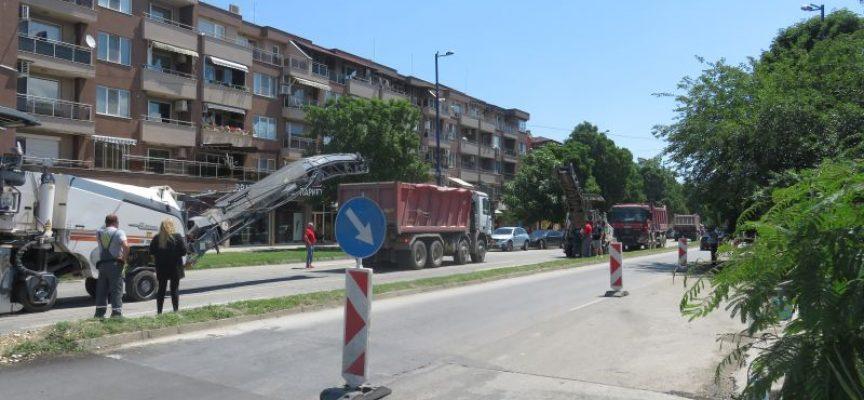 """Тодор Попов: Започна ремонтът на последния участък от бул.""""Ал. Стамболийски"""", ще отнеме месец"""