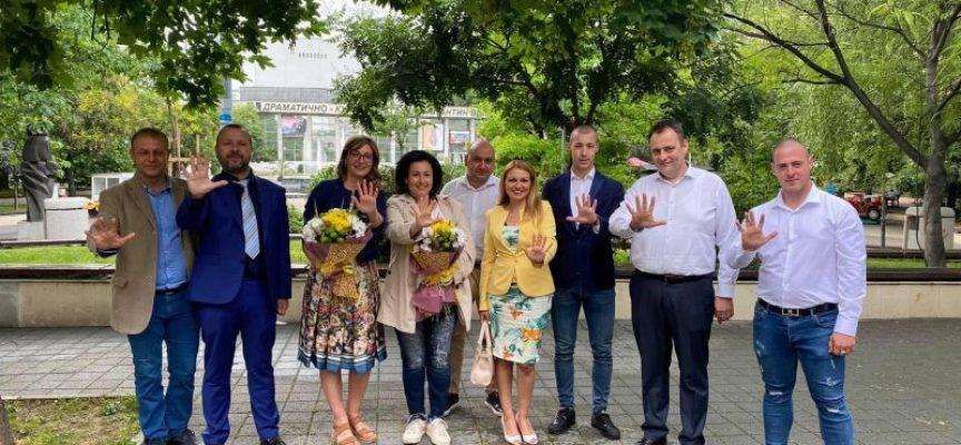 Десислава Танева и Васил Грудев на среща със земеделски производители от област Пазарджик