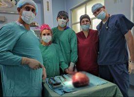 Отстраниха 5 кг. тумор от пациентка в МБАЛ-Пазарджик