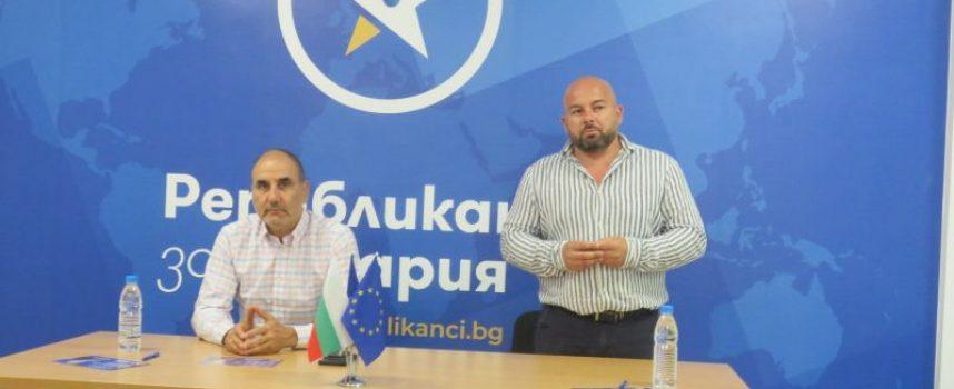 Цветан Цветанов в Пазарджик: Хората се отърсват от страха, очаквам изборите да бъдат честни