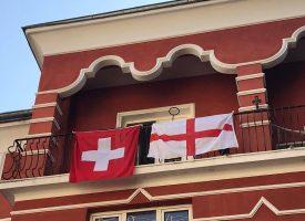 Тема с продължение: Английският флаг застана до знамето на Швейцария