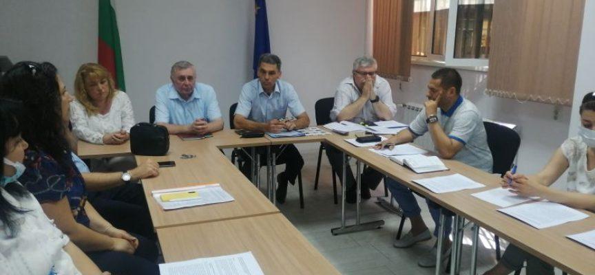 Иван Васев проведе работна среща със секретарите на общини във връзка с изборите за Народно събрание на 11 юли