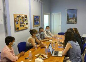 ГЕРБ Пазарджик проведе среща с Организация за сигурност и сътрудничество в Европа (ОССЕ) във връзка с предстоящите избори