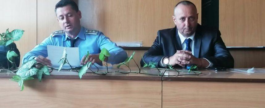 Ето кой представи днес новият главен инспектор Радев в Пещера