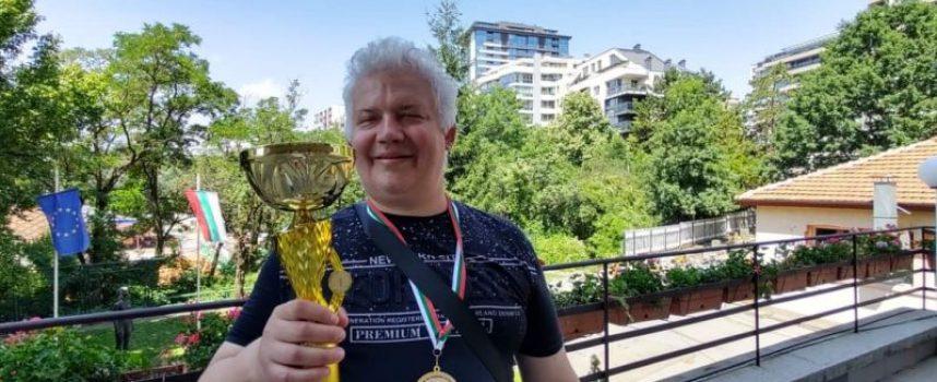 Голям успех за клуба с увреждания: Злато и сребро на държавното първенство