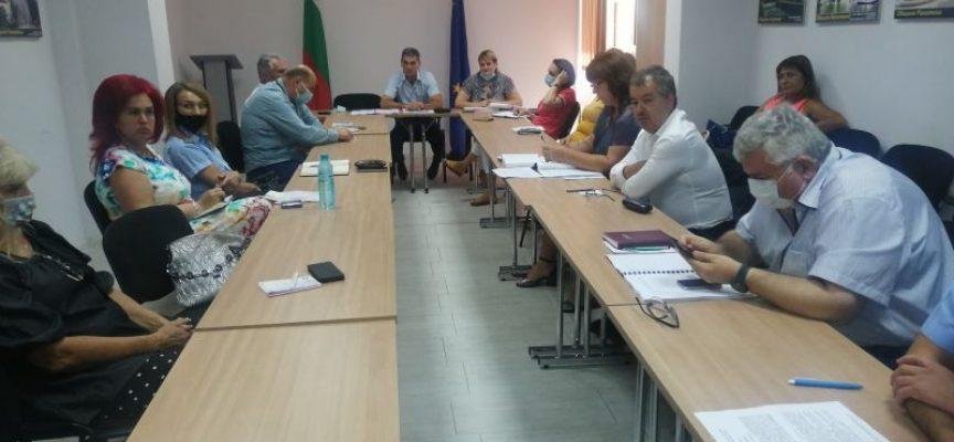 На заседание на Областния кризисен щаб за борба с COVID-19  беше представен Национален оперативен план за справяне с пандемията