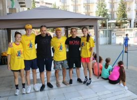 Популяризаторска кампания проведоха от Бадминтон клуб – Пазарджик