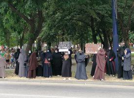 Мюсюлмани протестират пред съда, искат да пуснат Ахмед Муса от затвора
