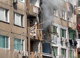 """Апартамент пламна на ул. """"Спартак"""" в Пазарджик"""