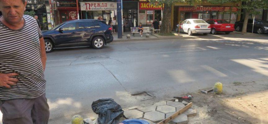 Общината отстрани последиците от катастрофа в центъра на града, подавайте сигналите си на тел: 034/ 96 96 96