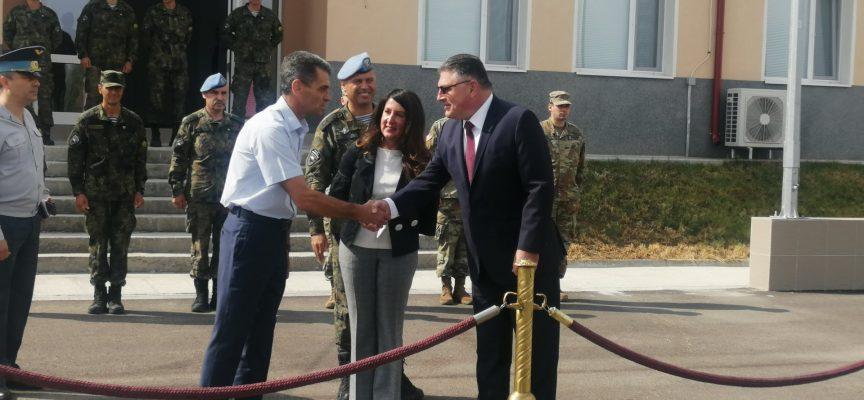 Областният управител Иван Васев посети демонстрациите в учебния център край Црънча