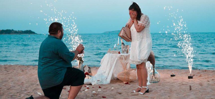 Д-р Борислав Церовски предложи брак на любимата си на плажа