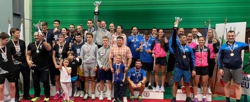 Бадминтон-скуош клуб Пазарджик се класира на трето място на Държавното отборно първенство