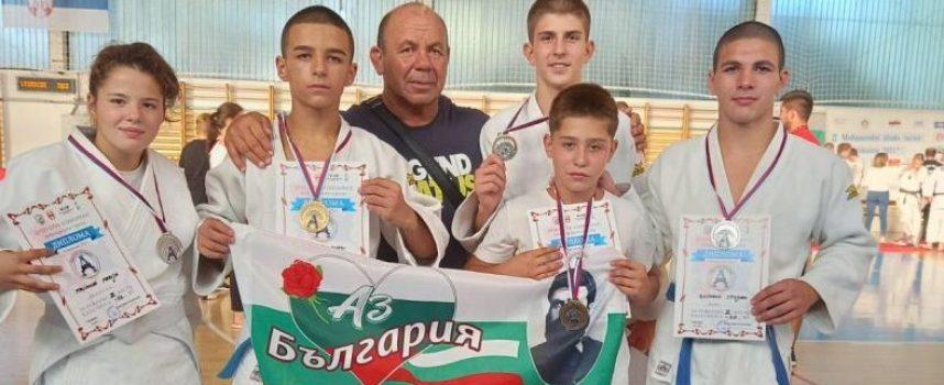 Пет медала за Кодокан от турнира в Сърбия