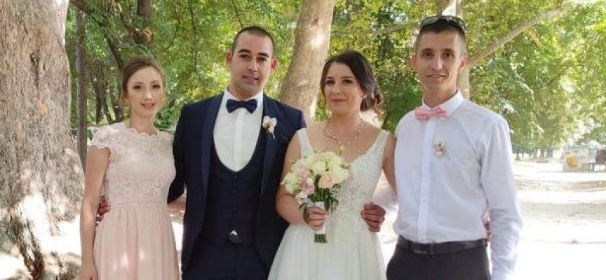 Светска хроника: Полицейският инспектор Христо Георгиев сключи брак с любимата си Ванеса