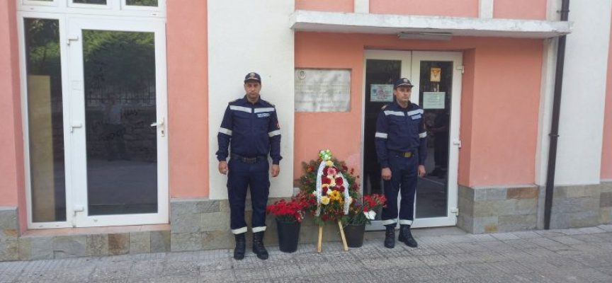 Белово: Пожарникарите почетоха паметта на младши-лейтенант Кръстьо Стоянов