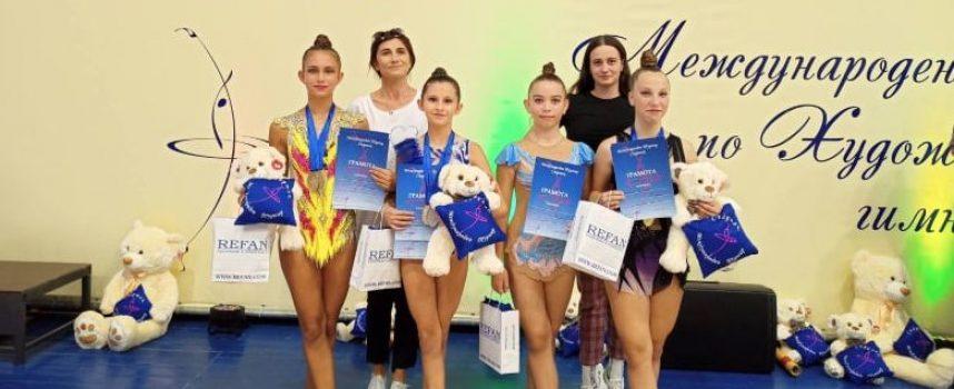 "Гимнастичките на ""Диляна Прима"" с ударно начало на новия сезон"