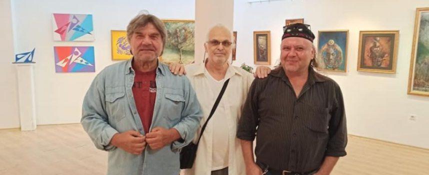 Пазарджишките художници Ангел Жилев и Ангел Рашев представят свои платна в Бургас