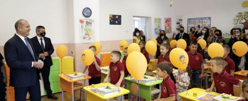 Президентът Румен Радев: Българското училище е свято място, където нашите деца се превръщат в осъзнати личности