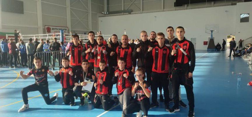Две шампионски титли и общо 11 медала за Спартак Пазарджик