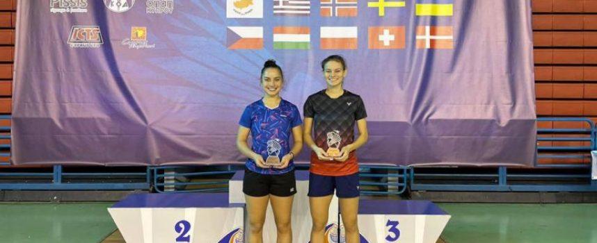Бронзов медал за Гергана Павлова на силен международен турнир по бадминтон